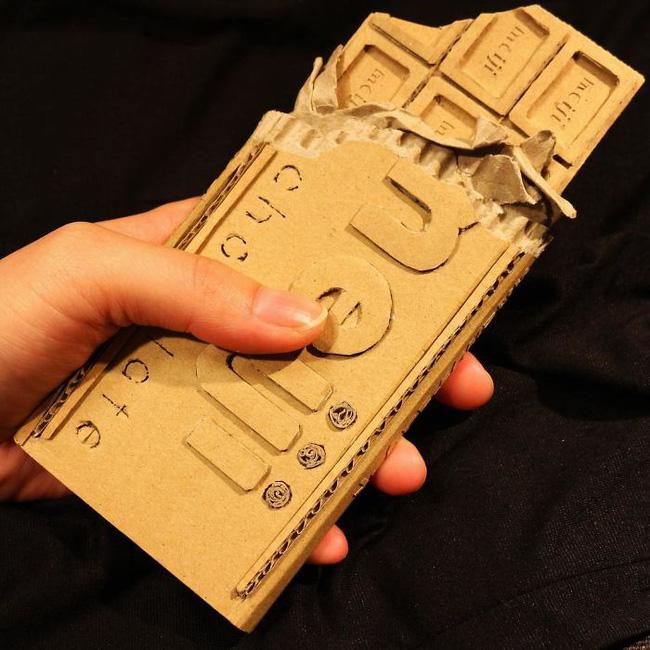 Cô gái Nhật biến bìa các-tông vứt đi thành những mô hình 3D sắc nét - Ảnh 15.