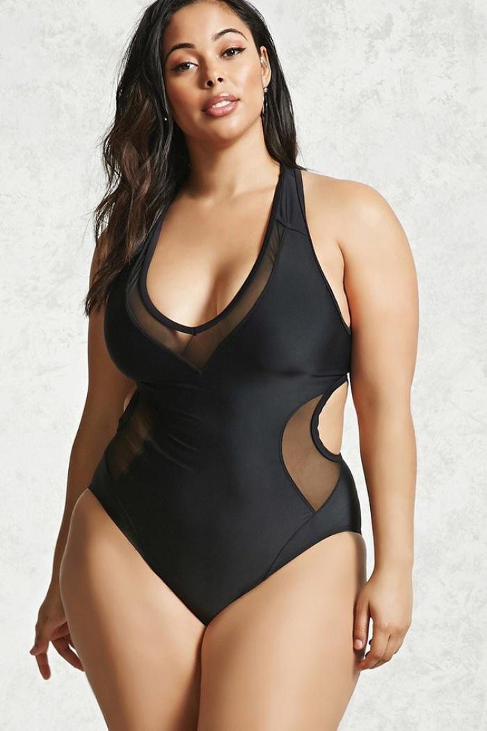6 bí kíp chọn đồ bơi hiệu quả mà các nàng mũm mĩm đừng nên bỏ qua - Ảnh 2.