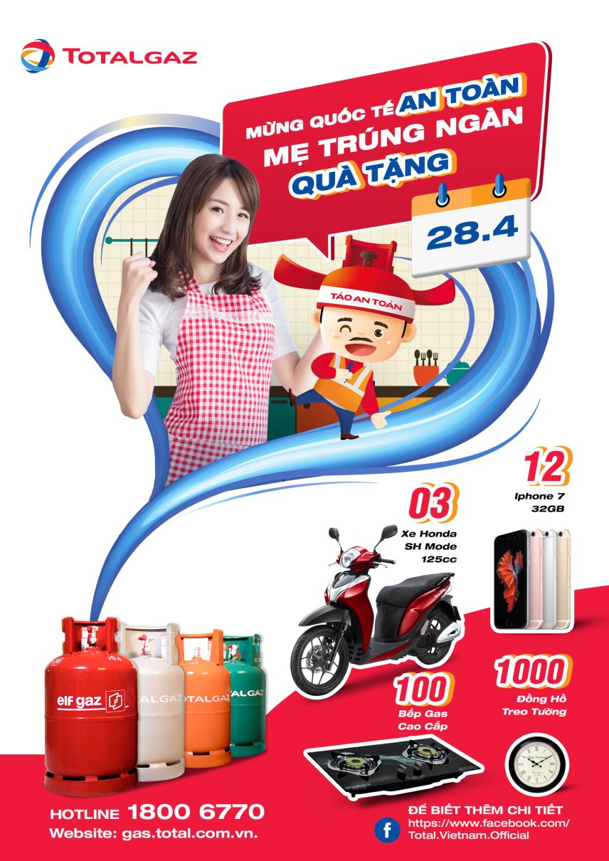 Thay đổi thói quen dùng gas - thử thách mới với người Việt