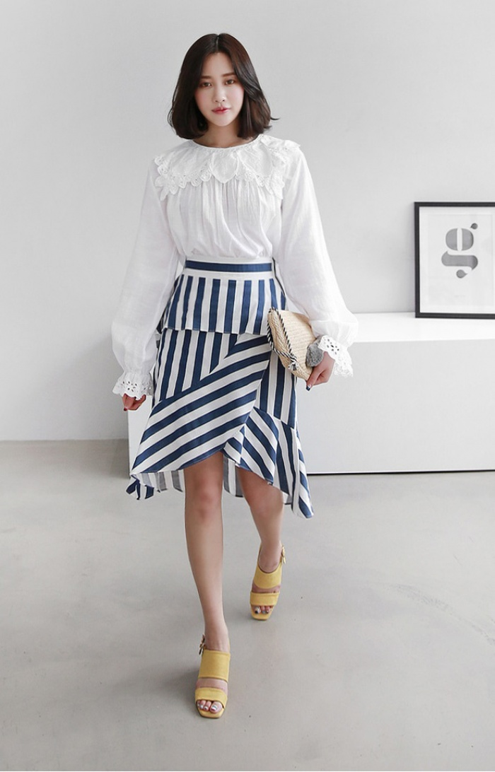 Hè này chân váy toàn những mẫu đã đẹp còn điệu khiến các nàng chẳng thể làm ngơ