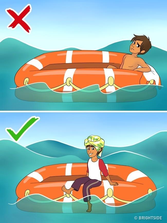 Làm gì để sống sót nếu đột nhiên bạn ở một mình giữa biển khơi?