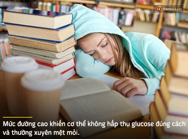 Những dấu hiệu cho thấy bạn đang ăn quá nhiều đường