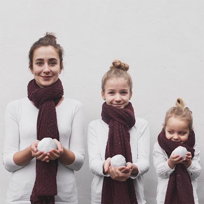 Tương lai nhất định phải có con gái để được trưng diện cùng nhau - nghĩ mà đáng yêu muốn xỉu!