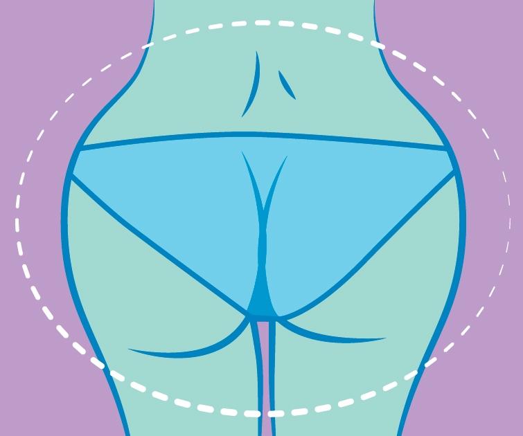 4 dáng mông điển hình và bài tập giúp mông tròn đẹp như trên tạp chí