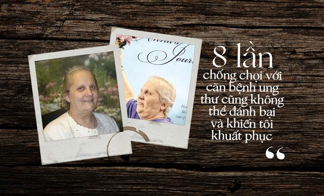 Sống sót qua 8 trận chiến ung thư, người phụ nữ này đã rút ra 5 bài học đắt giá, ai cũng cần nhớ để phòng chống căn bệnh chết người