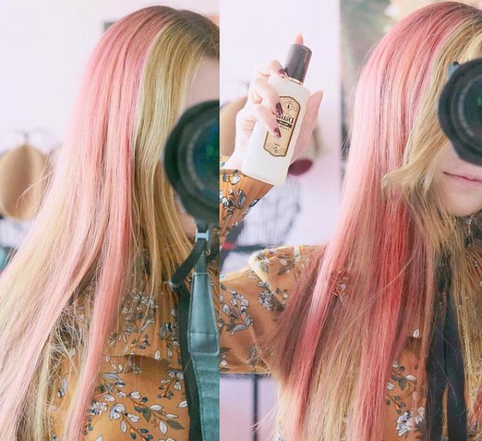 Tóc nhuộm nửa nọ nửa kia - Xu hướng tóc siêu chất chấp hết các màu nhuộm chói chang từ trước tới nay - Ảnh 3.