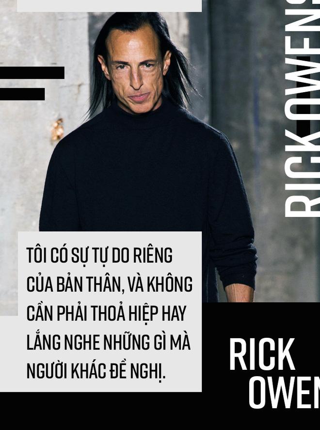 Rick Owens: Nhà thiết kế hư hỏng và mối tình kỳ lạ với người vợ hơn 17 tuổi - Ảnh 13.