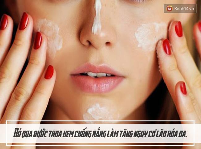 Dừng ngay những việc làm này với da nếu không muốn da vừa xấu vừa bệnh