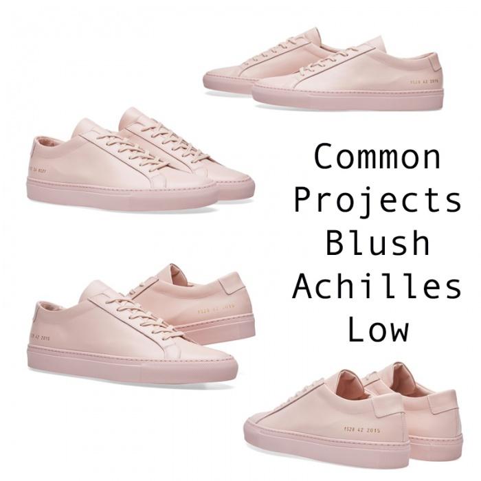 Common Projects Blush Achilles Low được đánh giá như là một trong những đôi giày tiên phong của plimsoll cao cấp bởi kiểu dáng đơn giản nhưng không bao giowf bị lỗi thời kế hợp cùng gam màu pastel - một xu hướng mới trong giới thời trang 2017.
