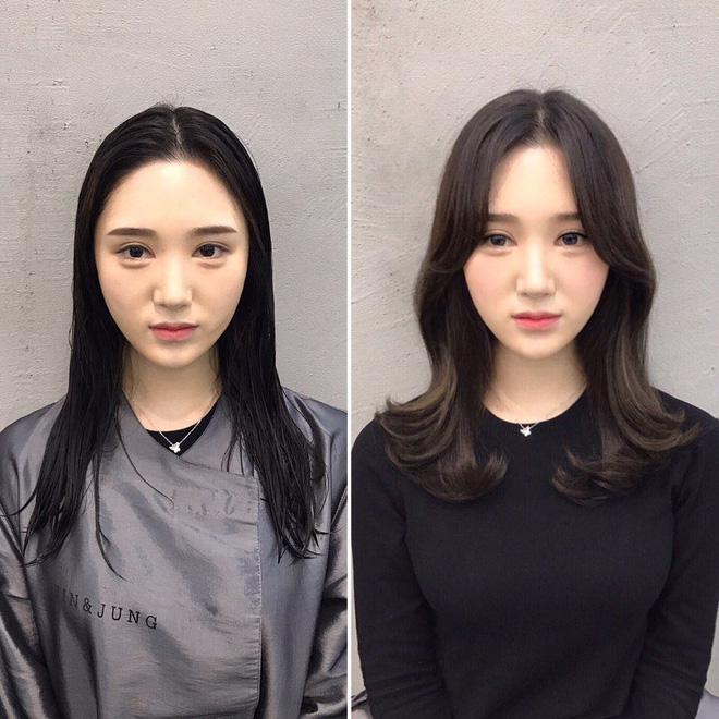 15 bức ảnh before/after khiến bạn chỉ muốn bay ngay sang Hàn để làm tóc15 bức ảnh khiến bạn chỉ muốn bay ngay sang Hàn Quốc để làm tóc - Ảnh 8.