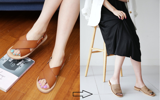 4 kiểu giày già nua và giải pháp thay thế để không biến bạn