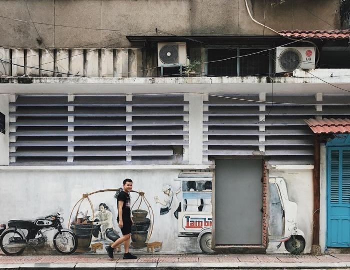 Check-in liền tay 4 khu Little Town của các nước ngay giữa Sài Gòn