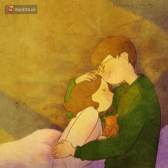 Cảm giác bình yên và ấm áp nhất: Được rúc vào vòng tay bạn trai ngủ quên cả thế giới!Cảm giác bình yên và ấm áp nhất: Được rúc vào vòng tay bạn trai ngủ quên cả thế giới! - Ảnh 13.