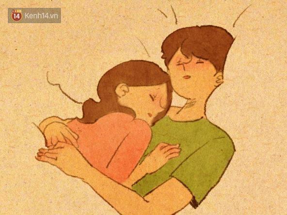 Cảm giác bình yên và ấm áp nhất: Được rúc vào vòng tay bạn trai ngủ quên cả thế giới!Cảm giác bình yên và ấm áp nhất: Được rúc vào vòng tay bạn trai ngủ quên cả thế giới! - Ảnh 1.