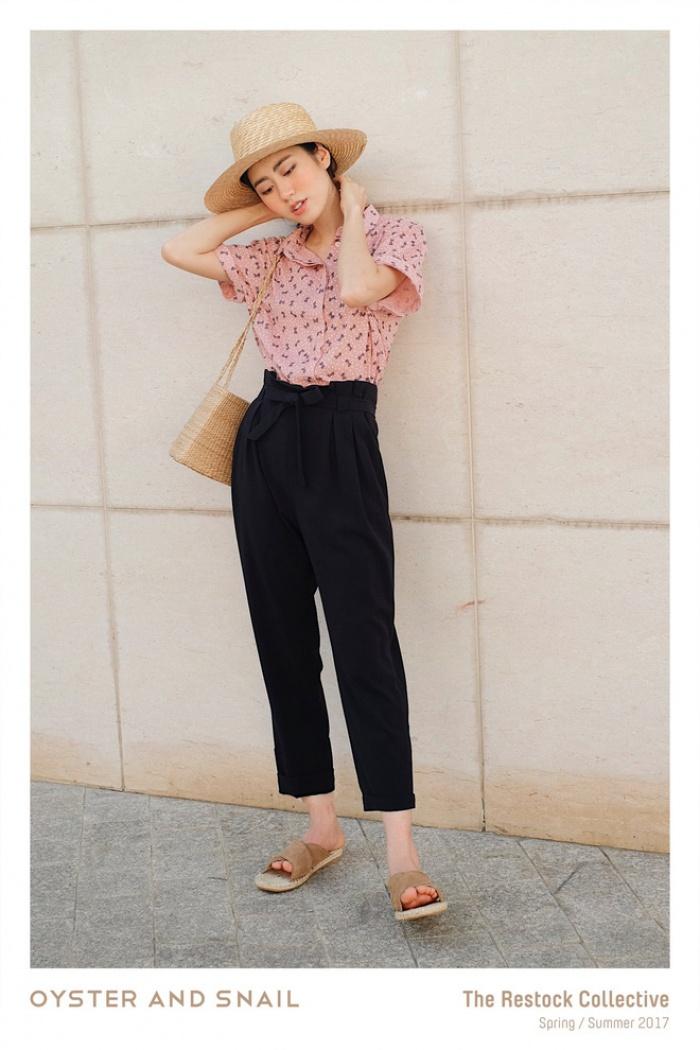 Ngay cả khi không thích quần vải, các cô nàng cũng sẽ đổ đứ đừ trước kiểu quần thắt nơ xinh xắn này - Ảnh 20.