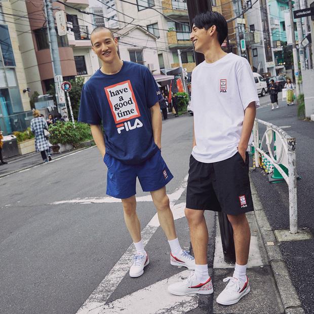 Giới trẻ châu Á người người nhà nhà đang diện T-shirt và sneaker Fila chất phát ngất ra sao? - Ảnh 5.