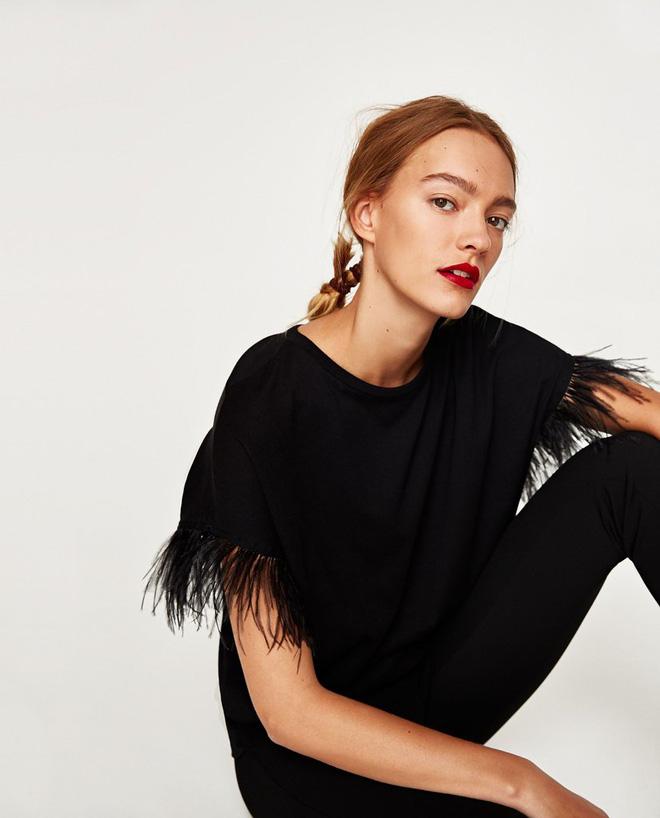 9 kiểu áo phông rất đáng sắm đến từ thương hiệu Zara