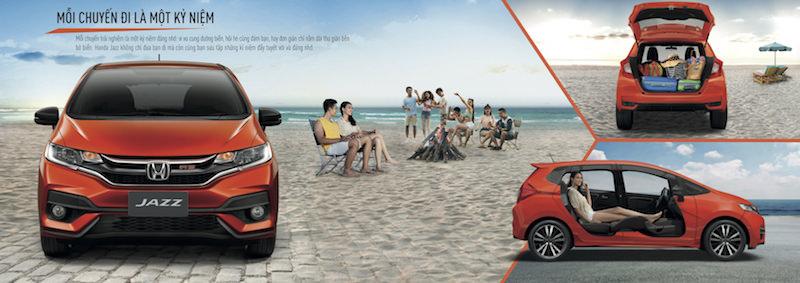 Honda Jazz - Mẫu xe thời trang và cá tính chính thức ra mắt