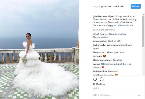 Váy cưới bồng bềnh như mây trắng của fashionista Hong Kong khiến bạn phải thốt lên: Liệu đây có phải mơ?Váy cưới bồng bềnh như mây trắng của fashionista Hong Kong khiến bạn phải thốt lên: Liệu đây có phải mơ? - Ảnh 10.