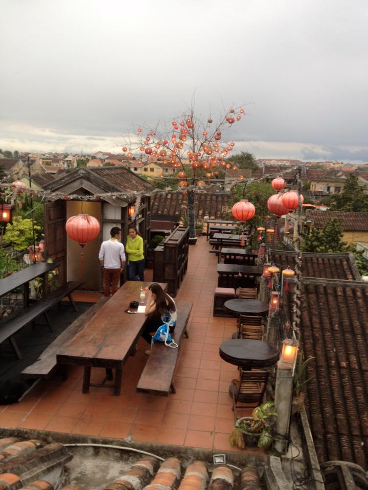 Hai quán cà phê ngắm toàn cảnh Hội An từ trên cao