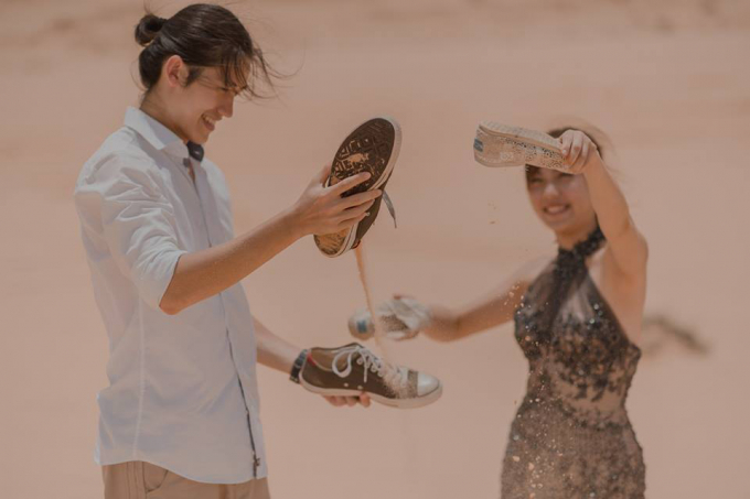 Nhìn những bức ảnh cưới của cặp đôi đến từ Đài Bắc (Đài Loan) này đủ thấy họ đã có nhiều trải nghiệm tuyệt vời ở Việt Nam thế nào.