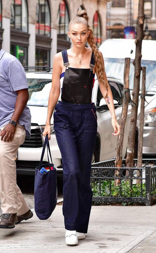 Mặt đẹp dáng chuẩn, Gigi Hadid mỗi khi bước xuống phố đều long lanh như chụp ảnh tạp chí - Ảnh 8.