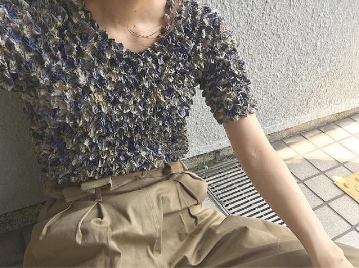 Áo phông bỏng ngô, mẫu áo sến súa từ vài chục năm trước nay lại được con gái Nhật thi nhau diện - Ảnh 3.