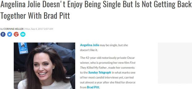 Sốc: Đây mới là sự thật về cuộc tái hợp thế kỷ của Angelina Jolie và Brad Pitt? - Ảnh 6.