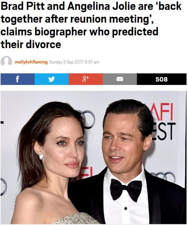 Sốc: Đây mới là sự thật về cuộc tái hợp thế kỷ của Angelina Jolie và Brad Pitt? - Ảnh 3.