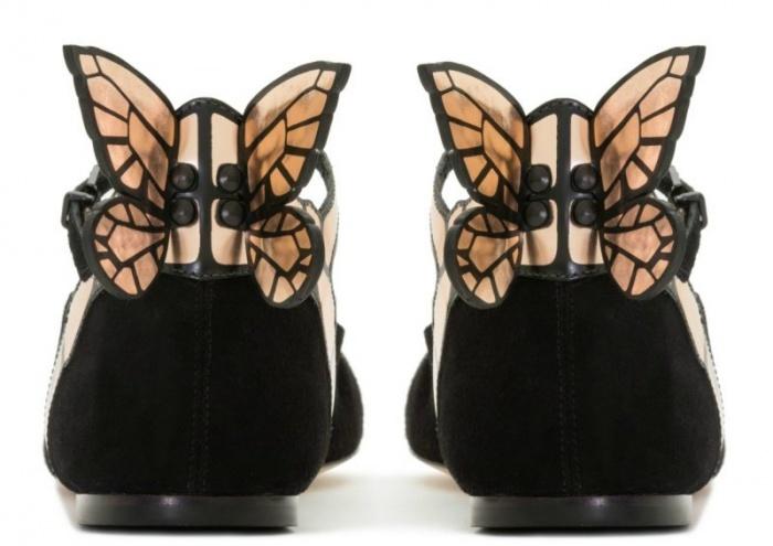 Chi tiết cánh bướm sau giày