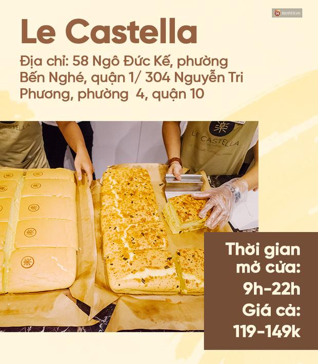 Bánh bông lan phô mai - món lạ quen thuộc đang đại náo phố đi bộ Nguyễn Huệ - Ảnh 5.