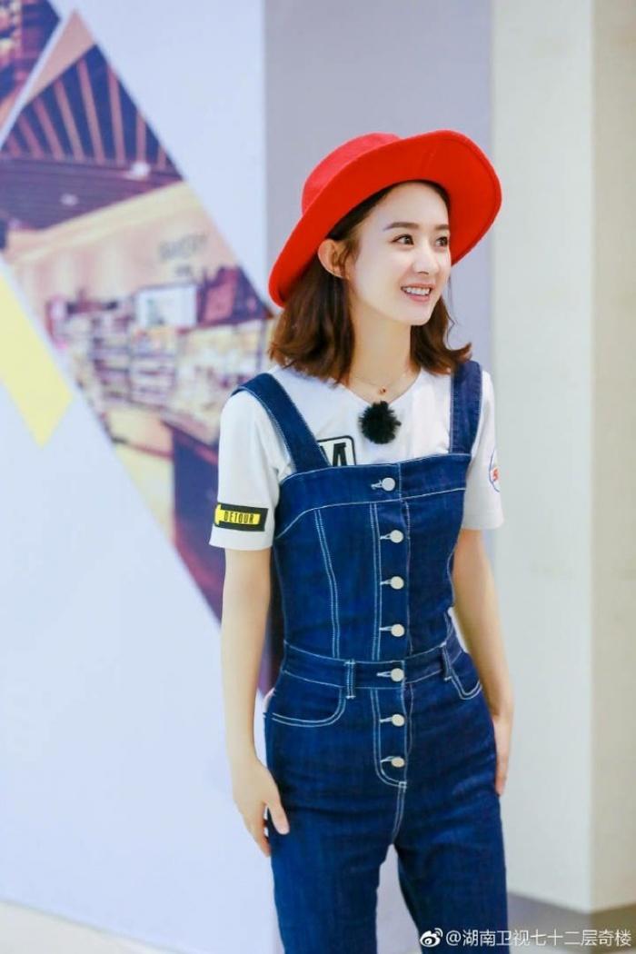 Học tập 3 xu hướng thời trang mới từ sao Hoa ngữ có thể khiến người mặc như trẻ ra vài tuổi - Ảnh 4.
