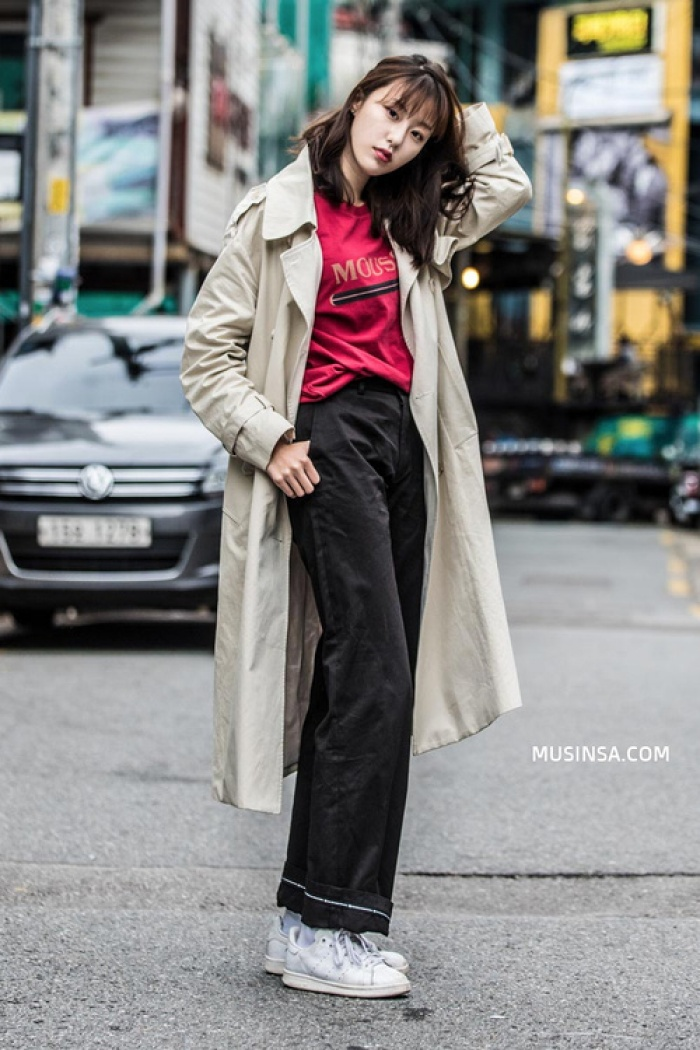 Giới trẻ Hàn Quốc lại mang đến cả tá gợi ý mặc đẹp mà chẳng cần cầu kỳ qua street style mãn nhãn - Ảnh 12.