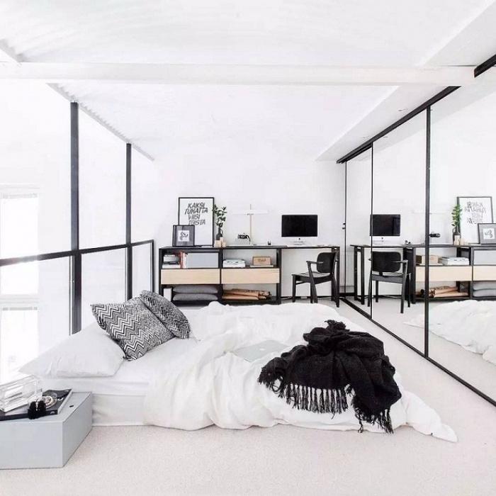 Những căn phòng ngủ chẳng cần đến giường nhưng khiến ai cũng thích - Ảnh 7.