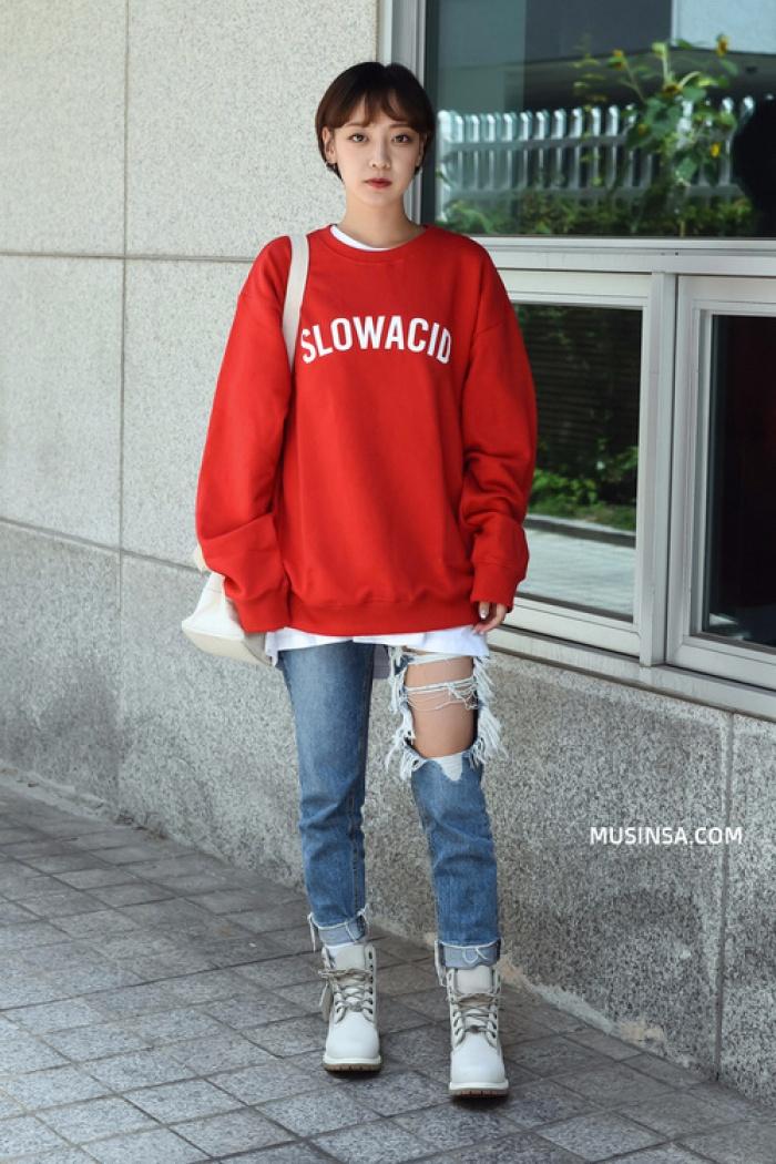 Giới trẻ Hàn Quốc lại mang đến cả tá gợi ý mặc đẹp mà chẳng cần cầu kỳ qua street style mãn nhãn - Ảnh 6.