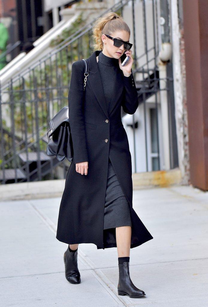 Phối street style mùa thu cực 'chất' như Gigi Hadid
