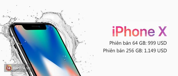iPhone 8, 8 Plus và iPhone X bao giờ mua được, giá tiền bao nhiêu? - Ảnh 1.
