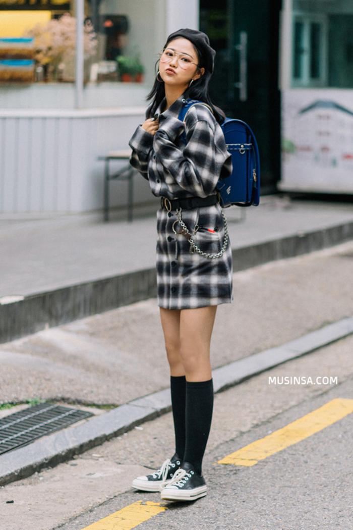 Lại phải xuýt xoa với street style thu đẹp khỏi bàn cãi của giới trẻ Hàn