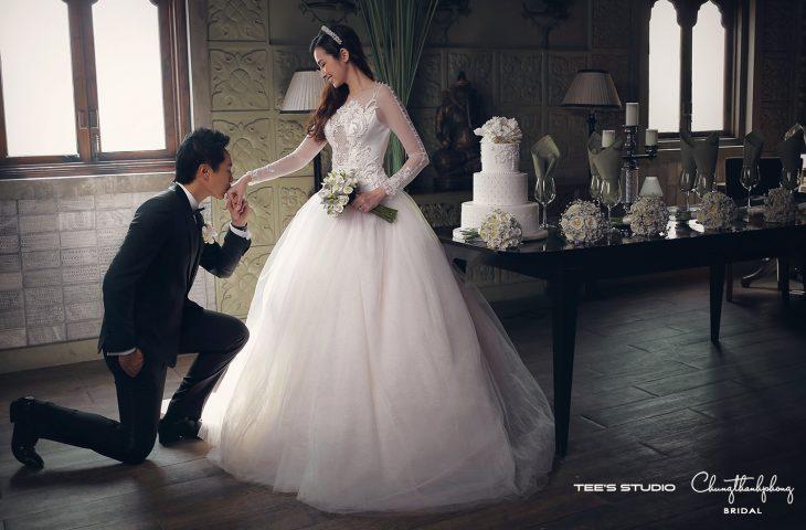 Những bộ ảnh cưới đẹp như mở của sao Việt - ELLE Việt Nam