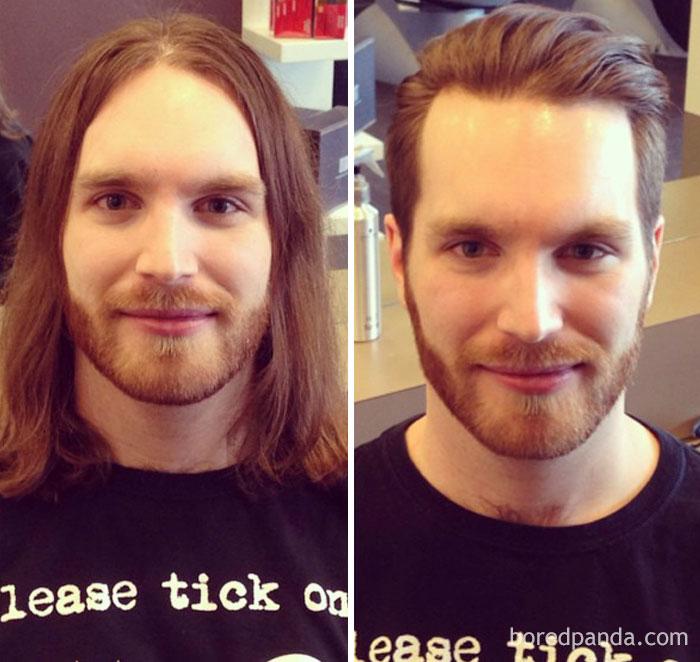 Thực tế chứng minh: Đàn ông vớ được thợ cắt tóc giỏi thì lột xác còn hơn cả phẫu thuật thẩm mỹ! - Ảnh 12.