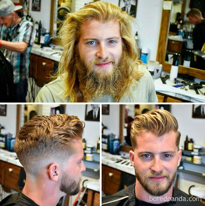 Thực tế chứng minh: Đàn ông vớ được thợ cắt tóc giỏi thì lột xác còn hơn cả phẫu thuật thẩm mỹ! - Ảnh 3.