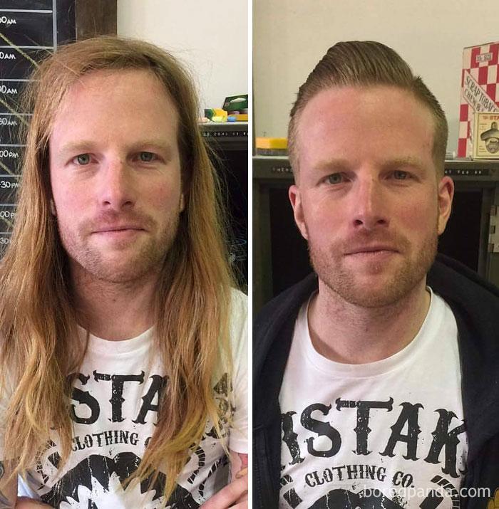 Thực tế chứng minh: Đàn ông vớ được thợ cắt tóc giỏi thì lột xác còn hơn cả phẫu thuật thẩm mỹ! - Ảnh 13.