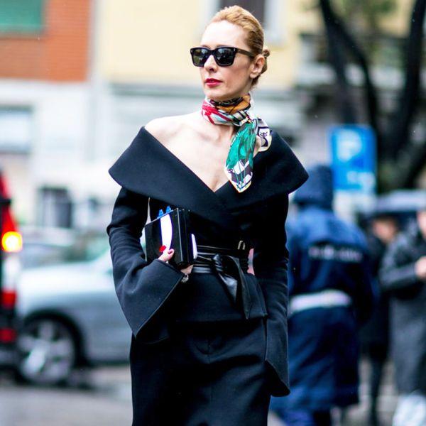7 kiểu thắt khăn cơ bản để bạn
