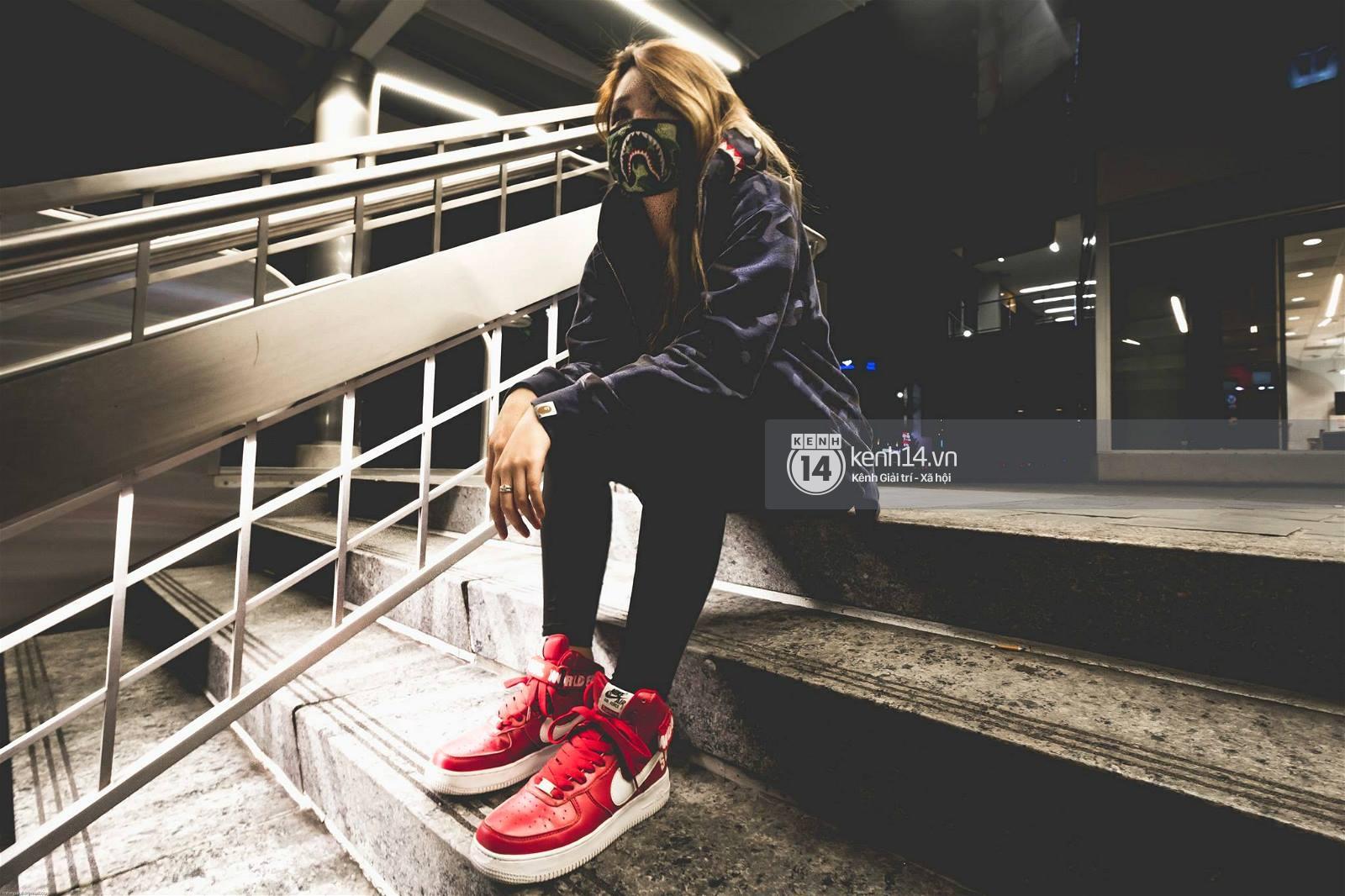 Clip: Jillian Nguyễn, đầu giày xinh đẹp vừa sở hữu gia tài sneakers đáng nể vừa có tài custom giày cực đỉnh - Ảnh 9.