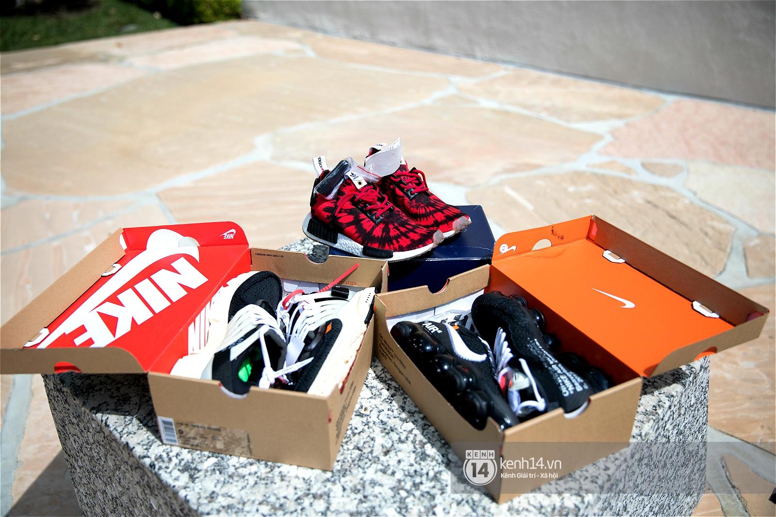 Clip: Jillian Nguyễn, đầu giày xinh đẹp vừa sở hữu gia tài sneakers đáng nể vừa có tài custom giày cực đỉnh - Ảnh 11.
