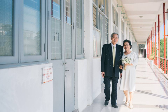 45 năm ông bà anh yêu nhau từ thời chẳng có gì đến tuổi thất thập và bộ ảnh cưới tình hơn tụi trẻ - Ảnh 4.