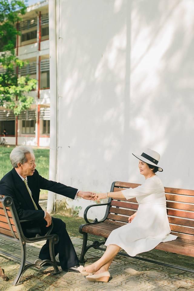 45 năm ông bà anh yêu nhau từ thời chẳng có gì đến tuổi thất thập và bộ ảnh cưới tình hơn tụi trẻ - Ảnh 13.