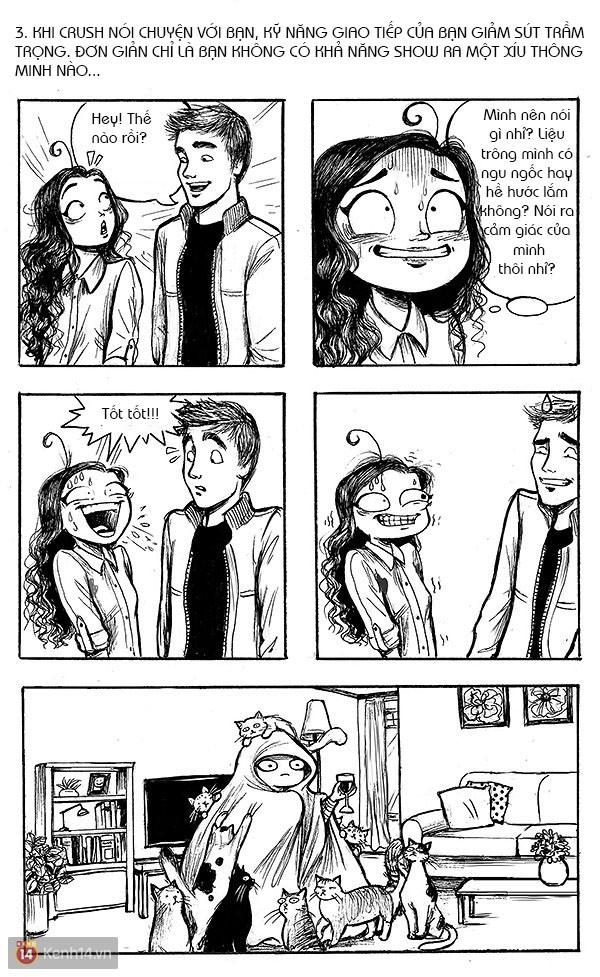 Hóa ra khi crush một ai đó, chúng ta sẽ có những trải nghiệm ngớ ngẩn như thế này đây!