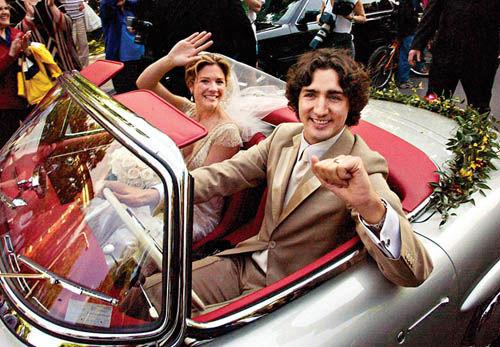 Ngay ngày đầu hẹn hò, Trudeau đã thổ lộ rằng Sophie chính là người phụ nữ mà ông sẽ kết hôn. Ảnh Ryan Remiorz/ CP