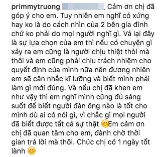 Trương Minh Xuân Thảo nói về Phan Thành: Nếu có chuyện gì xảy ra, em cũng là người chịu thiệt thòi mà thôi? - Ảnh 3.